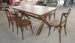 Antique dinging table and chair