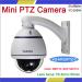 "VGSION Made 10 X zoom module3.5"" Super Mini ConfigurationSuper high Resulotion Indoor Mini PTZ IR Camera"