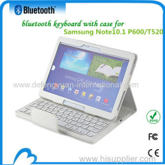 Folding Portable bluetooth mini keyboard for Samsung NOTE 10.1 P600/T520