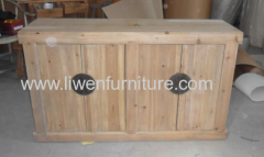 Antique sideboard recycled wood