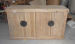Recycled wood sideboard 4 doors