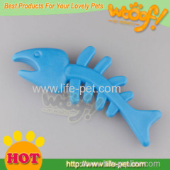 wholesale rubber fish dog toy