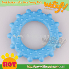 dog rubber ring dog toy for sale