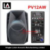 "Professional 12"" Plastic Speaker with MP3 with VHF Wireless Microphone"
