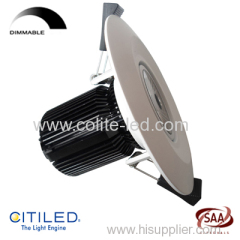12W COB LED downlight