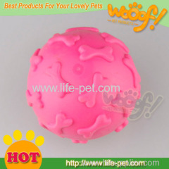 squeaky ball rubber dog toys for sale