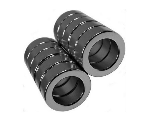 Sintered ring NdFeB Magnet with zinc coating