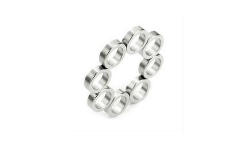 Zn Coating Thin-Wall Ring NdFeB Magnet