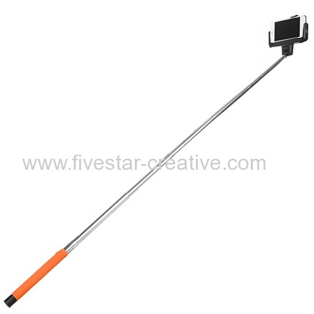 Selfie Stick Bluetooth Monopod Selfie Stick Self Portrait Pole for iPhone6 with Embedded Wireless Shutter Remote Control