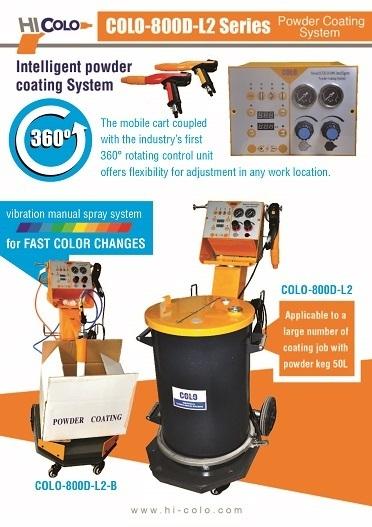 colo-800D-L2 powder coating system catalogue