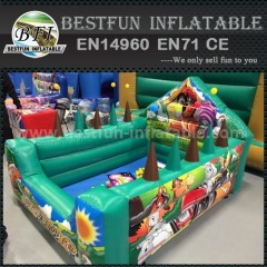 Hot sales funny indoor inflatable ball pit