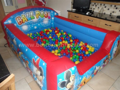 Inflatable trampoline inflatable foam pit for sale