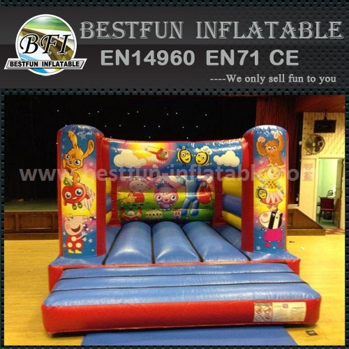Commercial cartoon inflatable bouncer