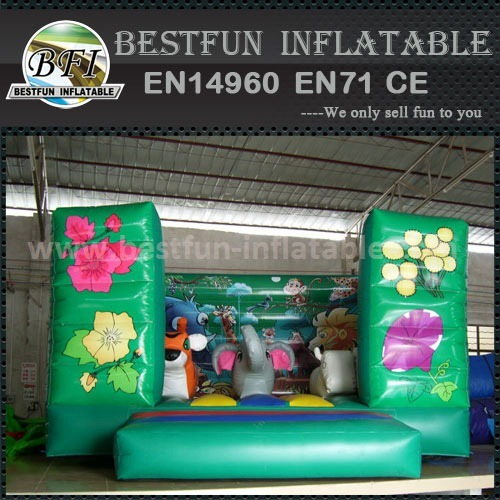 Inflatable animal themed bouncers