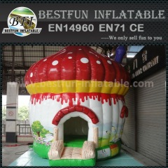 Mushroom Inflatable Bouncer for Kids Play
