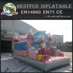 Fantastic inflatable Santa Claus bouncer