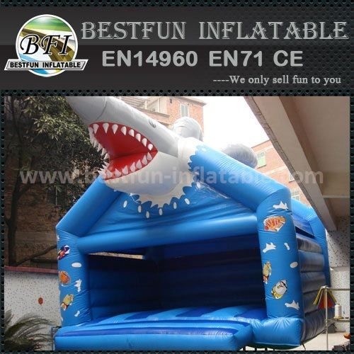 Empire inflatable shark jumping bouncer