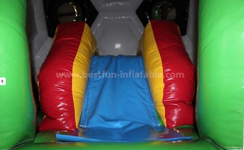 Football jumping house inflatable bouncer for kids