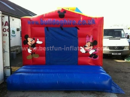 Commercial micky park inflatable mini bouncer for sale