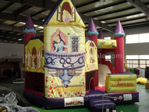 Princess Inflatable Jumping Castle with Free Blower