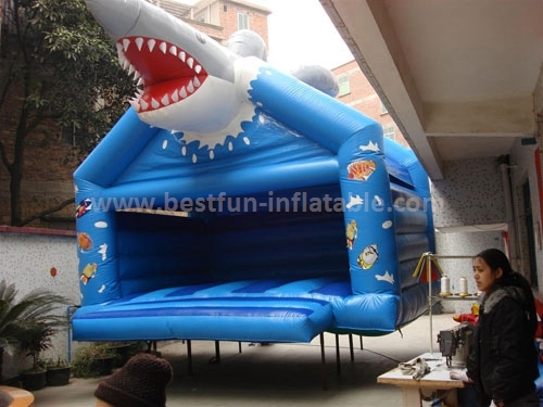 Shark bouncer inflatable kids bouncers air bouncer