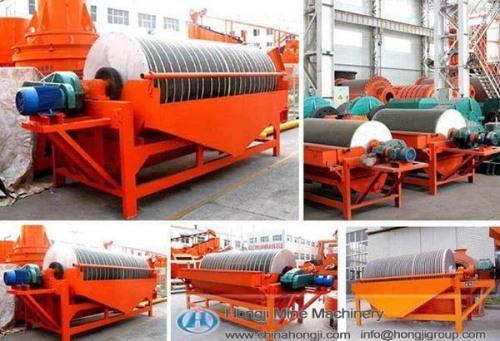Magnetic Separator Mining equipment made by Hongji