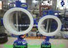 PTFE seat butterfly Corrosion Resistant Valves for Medicine , manual