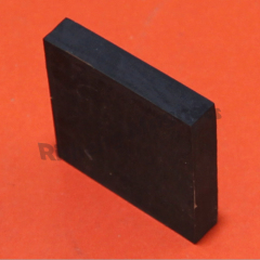 High Quality Block Neodymium Magnets 51 x 31 x 6mm With Black Rubber Coating