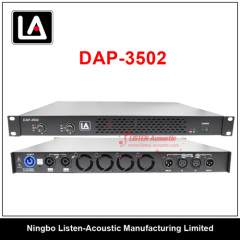 Professional 1 U Class D power amplifier PDA series with DSP DAP Series