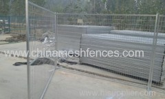 Zinc-plating Portable Construction Site Fencing Panel