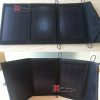 Portable Foldable 10 watt Solar Charger Pack Bag for Mobile Phone/Tablet + Mini LED Flashlight