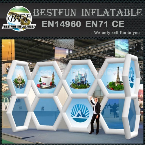 Colorful inflatable walls for events exhibition shows