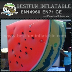 Promotion inflatable watermelon model