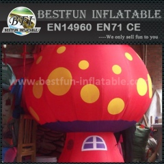 Inflatable advertising mushroom balloon