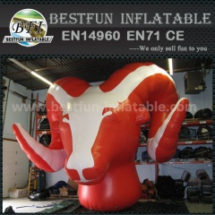 High-quality inflatable goat for outdoor advertising