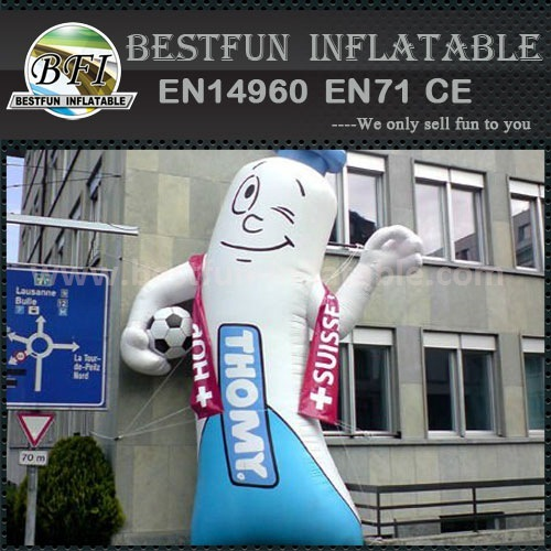 2015 Inflatable Toothpaste of Advertising