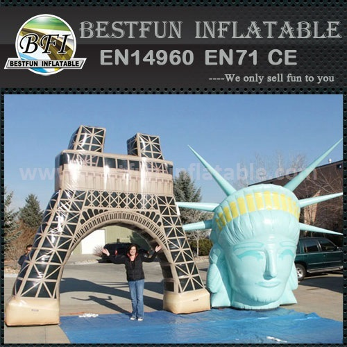 Beauty Inflatable Model For Scenic Spot