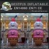 Vivid image ice cream advertising inflatables