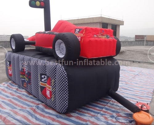 Giant inflatable formula 1 race car for sale