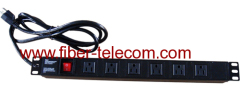 PDU socket with switch