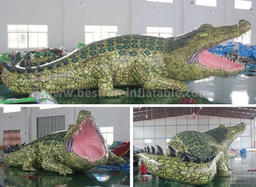 Fascinating Inflatable Crocodile For Promotion