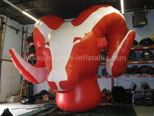 Hot sale inflatable goat for advertising