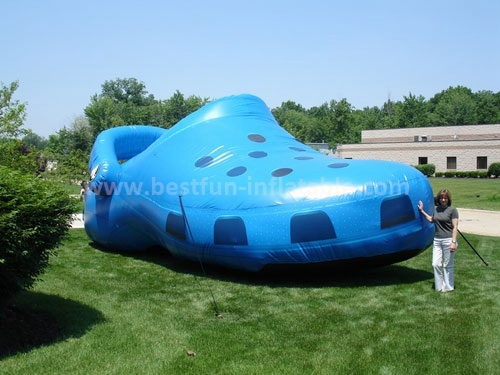 Inflatable shoes advertising model