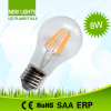 White glass led light bulb A60 8W