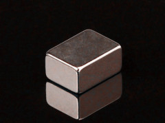 Powerful NdFeB Rare Earth Block Magnet With Nickel Coating