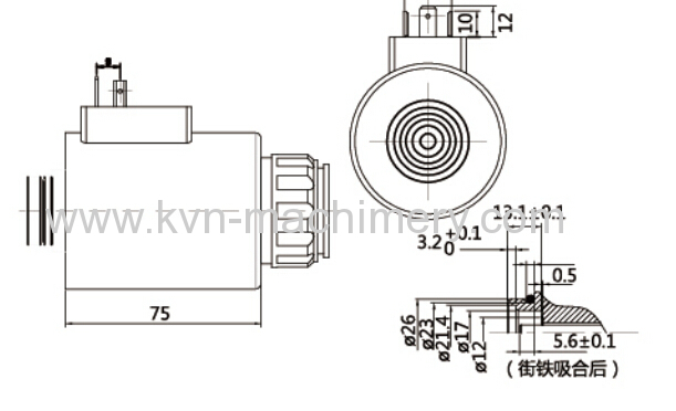 rexroth hydraulic directional valve 120yc electromagnet from china manufacturer