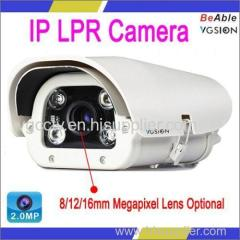 Ambarella A5S ARM11 and 2.0Megapixel CMOS Sensor 2.0MP IP LPR Camera