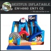 Racing car Obstacle Course for child play