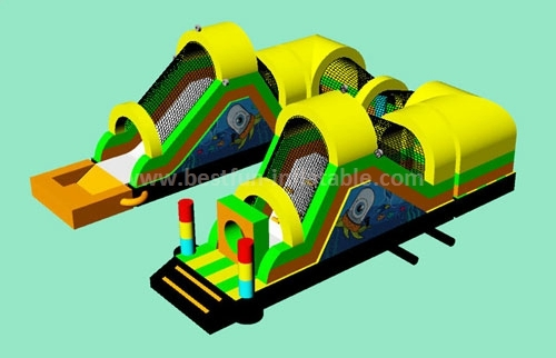 Double Tube Inflatable Obstacle Courses