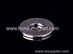 permanent diametrically magnetized ring magnets